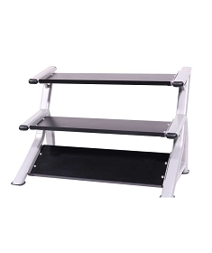 Tray Style Dumbbell Rack