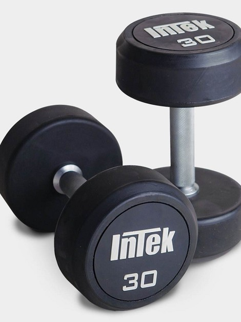 Champion Series Round Rubber Dumbbells
