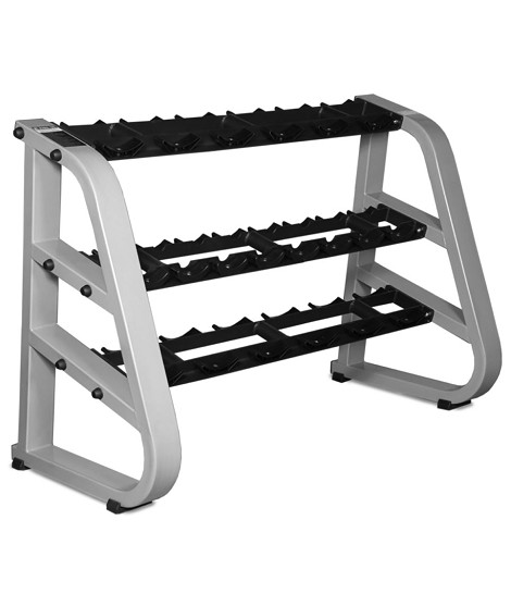 Triple Tier Dumbbell Rack