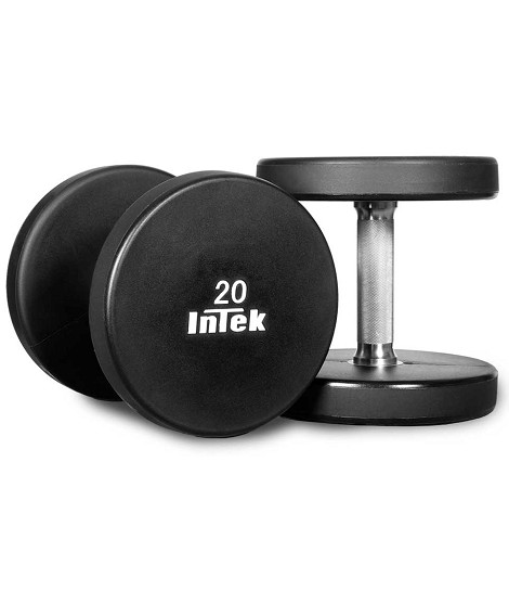 Armor Series Solid Urethane Dumbbells
