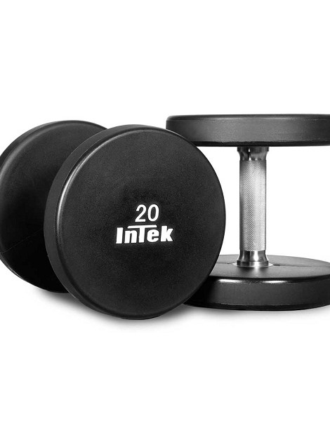 Armor Series Solid Urethane Dumbbell Set